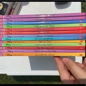 Set of 13 Disney Princess Scholastic Lesson Books